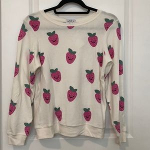 Wildfox Couture Strawberry Pullover